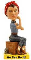 Bobblehead: Rosie the Riveter