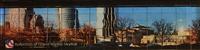 Grand Rapids Skyline Reflection Magnet