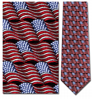 Small Waving Flag Tie