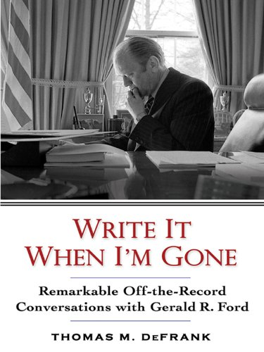 Write it When I'm Gone Revised Paperback