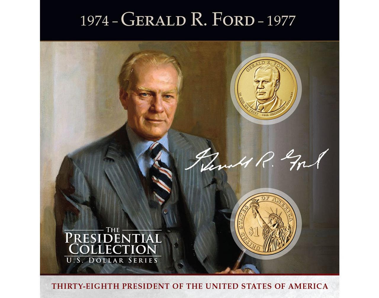 President Gerald R. Ford US Dollar