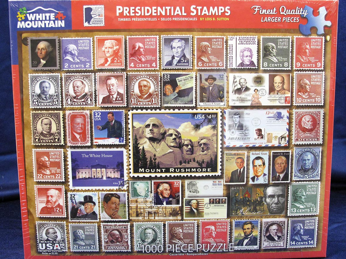 Presidential Stamps Puzzle