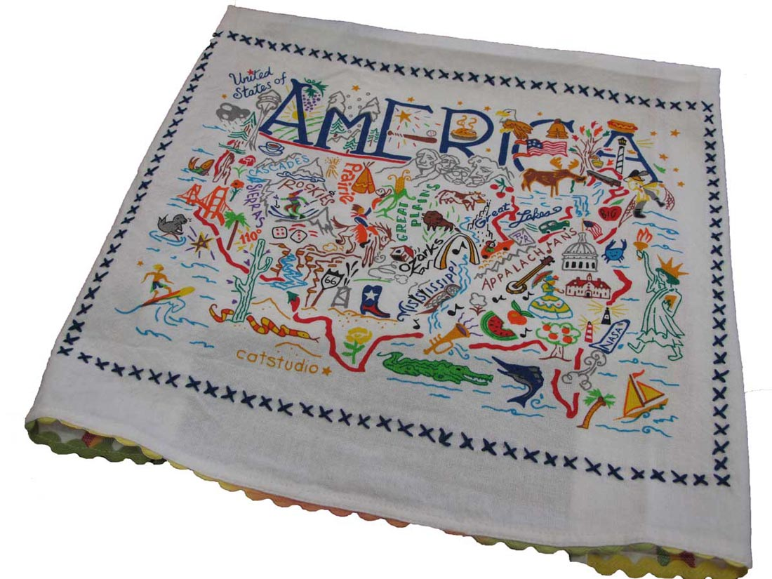 American Tea Towel