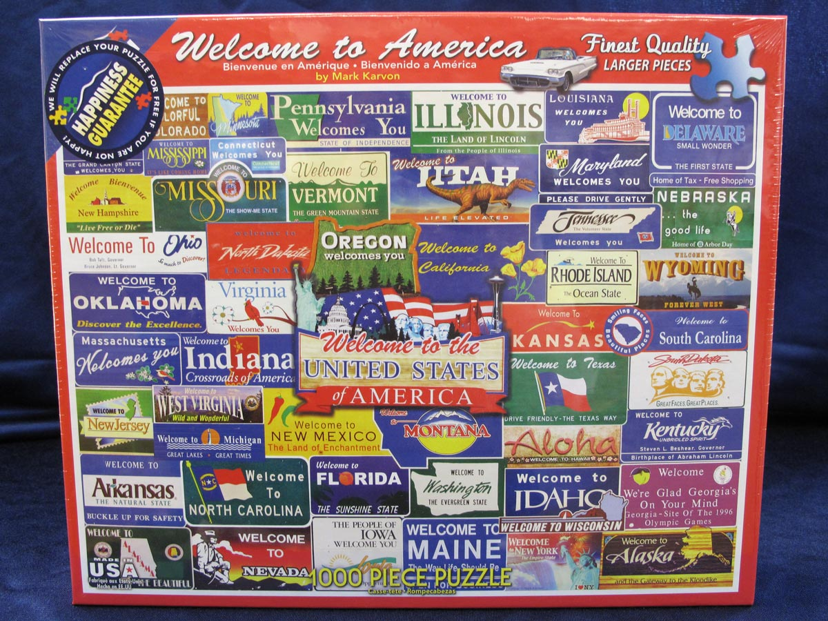 Welcome to America Puzzle