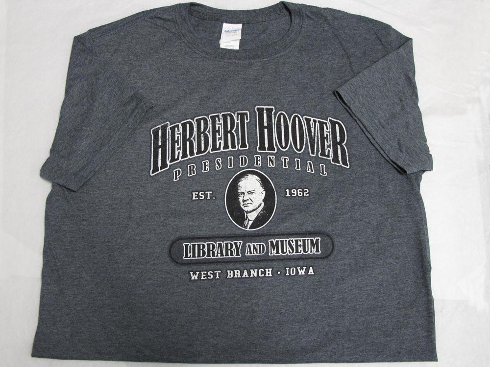 Herbert Hoover Gray T-Shirt