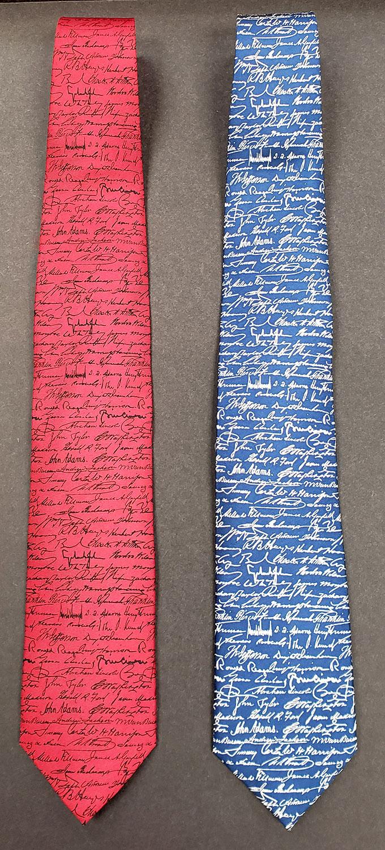 U.S. Presidential Signatures Tie