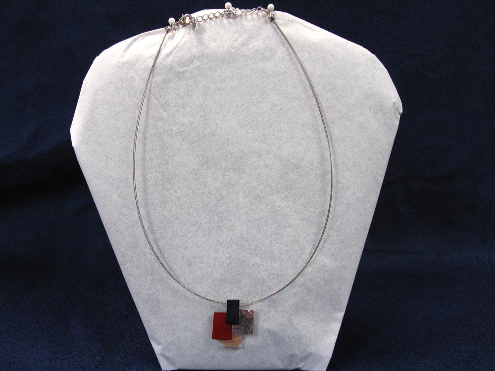 Cubist Pendant Necklace
