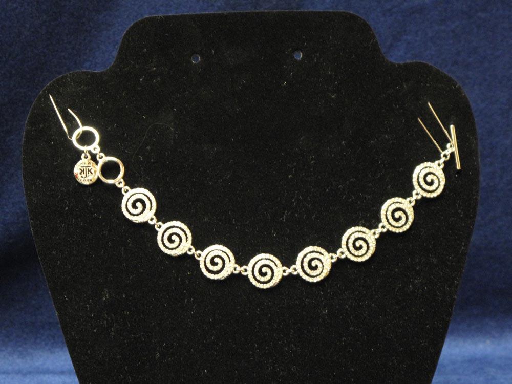 Pave Swirl Bracelet