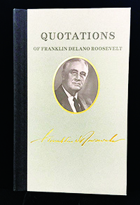 Quotations of Franklin Delano Roosevelt