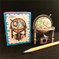 Globe Die Cast Pencil Sharpener