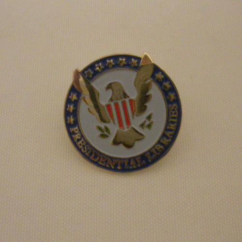 Presidential Libraries Tac Pin