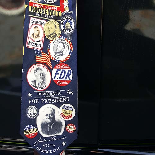 Franklin D. Roosevelt Campaign Tie