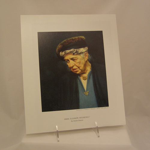 Color Reproduction of Eleanor Roosevelt by D. Greene