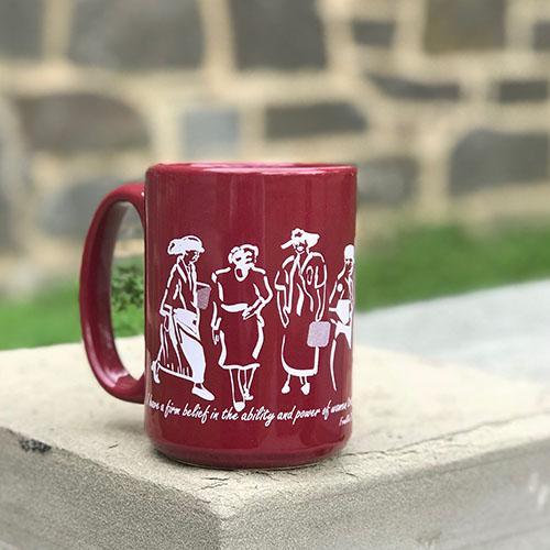 Eleanor Roosevelt Mug - Maroon