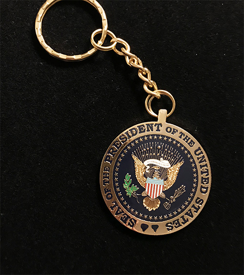 Presidential Seal Keyring