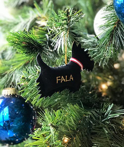 FALA Felt Ornament