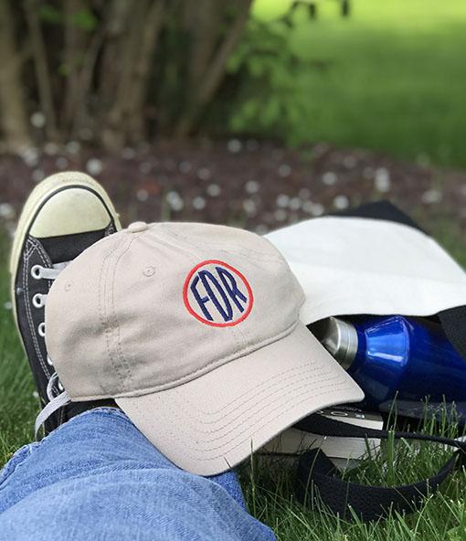 FDR LogoTwill Cap/Khaki