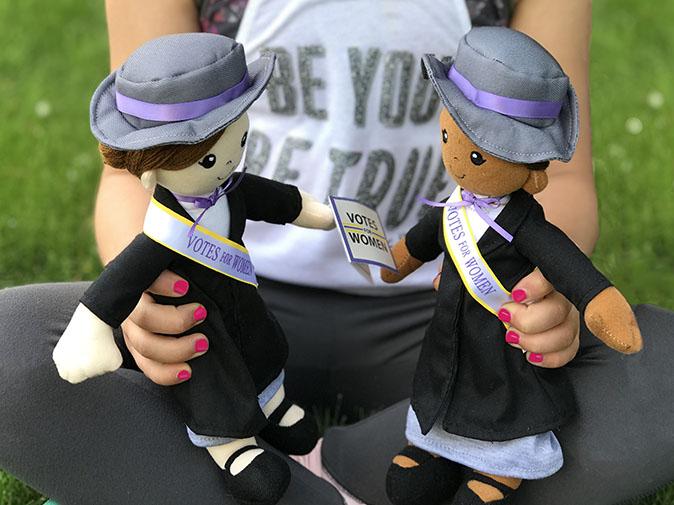 Suffragist Doll LS