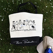 Eleanor Roosevelt Tote Bag