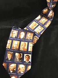Presidential Portraits Tie