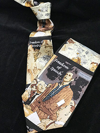 Norman Rockwell Four Freedoms Tie