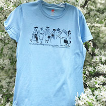 ER T-Shirt/Small/Light Blue
