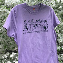 ER T-Shirt/Small/ Lavender