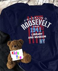 1941 FDR Kids T-Shirt