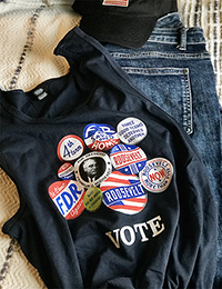 Campaign Button Tank