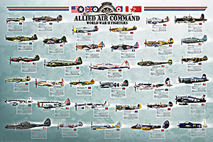Allied Air Command FIGHTERS Poster