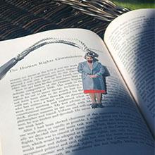 Metal Eleanor Roosevelt Bookmark