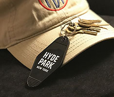 Historic Hyde Park Keychain