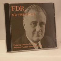 FDR: Mr. President CD