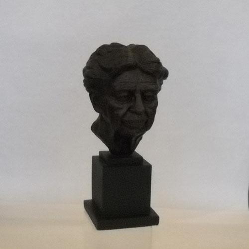 """Eleanor Roosevelt 13"""" Bronze Bust"""