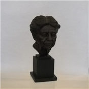 "Eleanor Roosevelt 13"" Bronze Bust"
