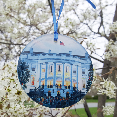 1941 White House Glass Ornament / OOS INDEF