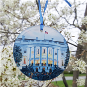 1941 White House Glass Ornament