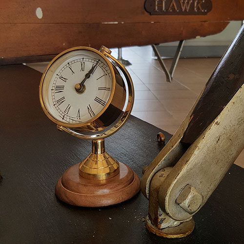 Nautical Clock Brass