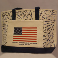 Presidential Signature Tote Bag