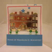Home of Franklin D. Roosevelt Match Quote Pin