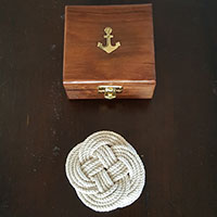 Rope Coaster Set of 4