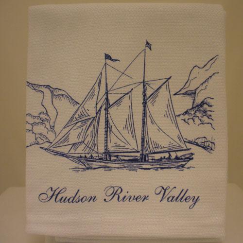 Hudson River Valley Tea Towel