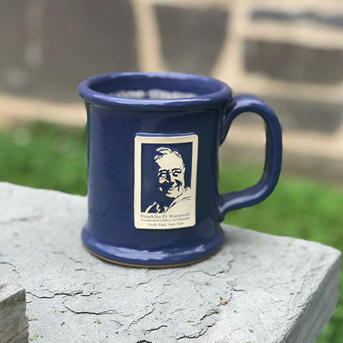 FDR Stoneware Mug