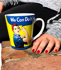 Rosie Latte Mug