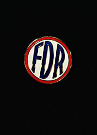 FDR Cloisonne Pin