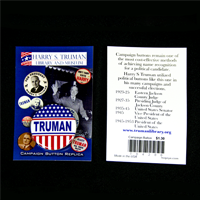 Harry S. Truman Campaign Button