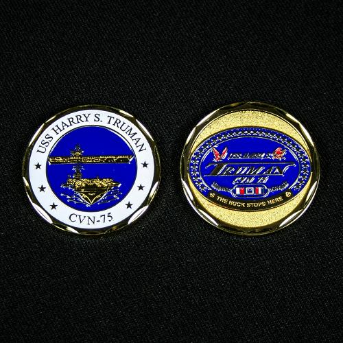 U.S.S. Harry S. Truman Challenge Coin