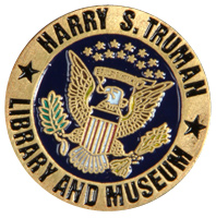 Harry S. Truman Library with Seal Pin