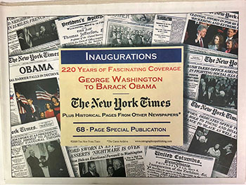 Inaugurations Newspaper Compilation