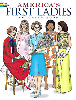 Coloring Book: First Ladies